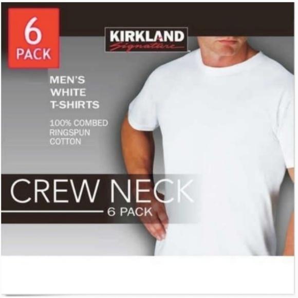 Kirkland Signature Other - Kirkland Signature Men's White Crew Neck T-Shirt